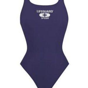 Speedo Lifeguard Blue One Piece Swimsuit
